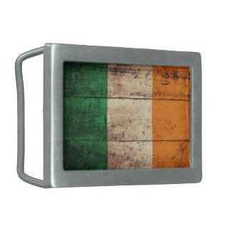Bandeira de madeira velha de Ireland