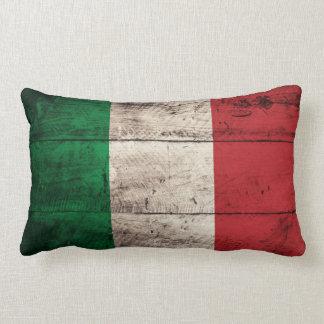 Bandeira de madeira velha de Italia Travesseiro De Decoração