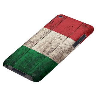 Bandeira de madeira velha de Italia Capa Para iPod Touch