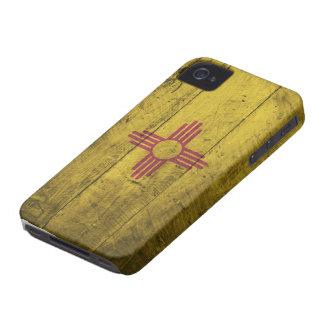 Bandeira de madeira velha de New mexico; Capa Para iPhone