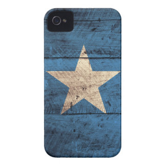 Bandeira de madeira velha de Somália Capa Para iPhone