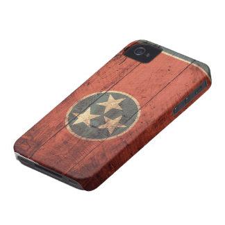 Bandeira de madeira velha de Tennessee Capinhas iPhone 4