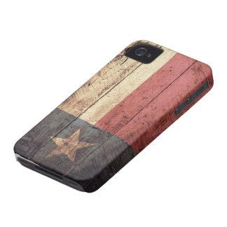 Bandeira de madeira velha de Texas; Capa Para iPhone 4 Case-Mate