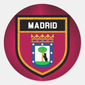 Bandeira de Madrid Adesivo