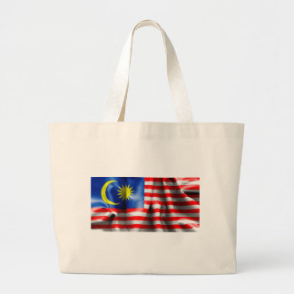 Bandeira de Malaysia Bolsa Tote Grande