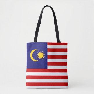 Bandeira de Malaysia Bolsas Tote