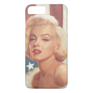 Bandeira de Marilyn Capa iPhone 8 Plus/7 Plus