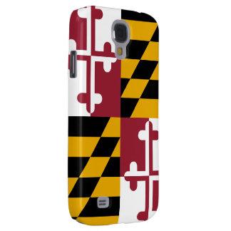 Bandeira de Maryland Capas Personalizadas Samsung Galaxy S4