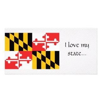 Bandeira de Maryland Cartões Com Fotos