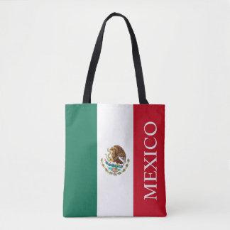 Bandeira de México Bolsa Tote