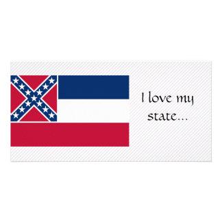 Bandeira de Mississippi Cartões Com Foto