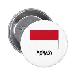 Bandeira de Monaco Boton