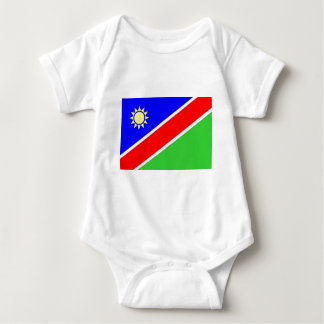 Bandeira de Namíbia Body Para Bebê