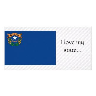 Bandeira de Nevada Cartão Com Foto