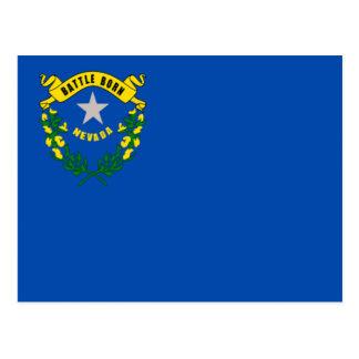 Bandeira de Nevada Cartoes Postais