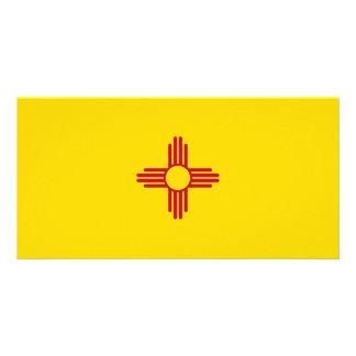 Bandeira de New mexico Cartão Com Foto