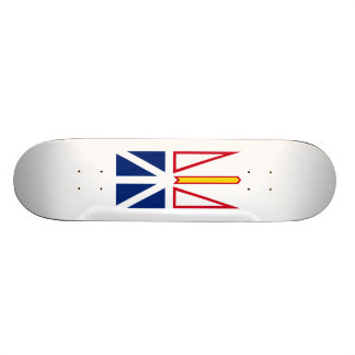 Bandeira de Nfld. e plataforma do skate de