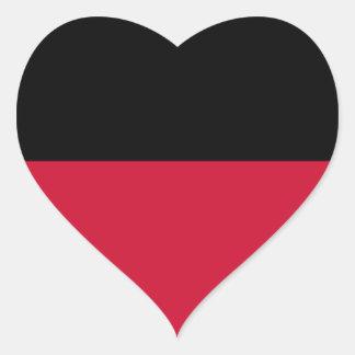Bandeira de Nijmegen Adesivo Coração