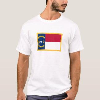 Bandeira de North Carolina Camiseta