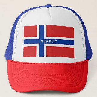 Bandeira de Noruega Boné