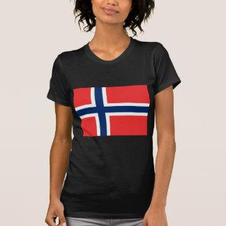 Bandeira de Noruega Camiseta