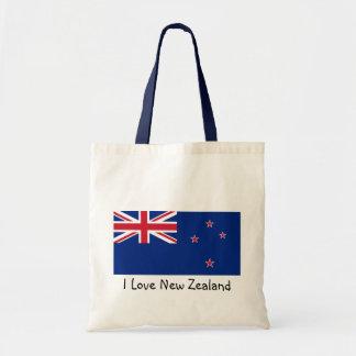 Bandeira de Nova Zelândia Bolsa Tote