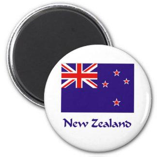 Bandeira de Nova Zelândia Imãs De Geladeira