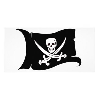Bandeira de ondulação #10 Jack Rackham Cartão Com Foto