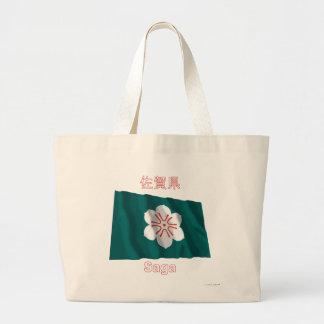 Bandeira de ondulação da prefeitura de saga bolsas