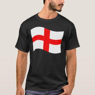 Bandeira de ondulação de Inglaterra Tshirts