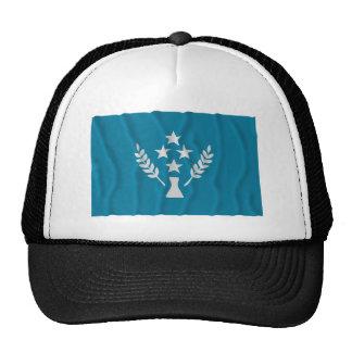 Bandeira de ondulação de Kosrae Bone