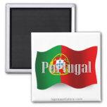 Bandeira de ondulação de Portugal Imas
