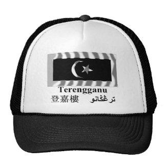 Bandeira de ondulação de Terengganu com nome Bone