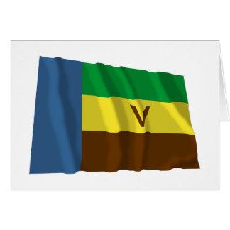 Bandeira de ondulação de Venda Cartões