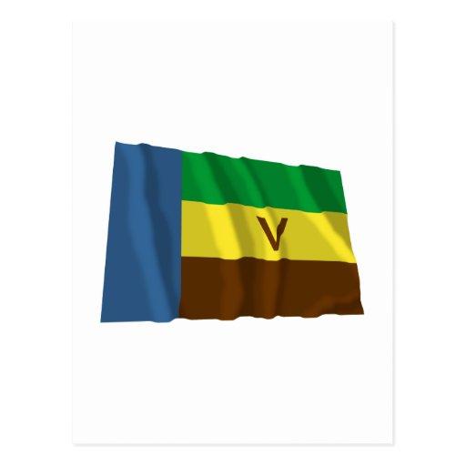 Bandeira de ondulação de Venda Cartao Postal