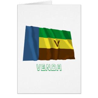 Bandeira de ondulação de Venda com nome Cartão