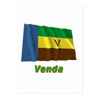 Bandeira de ondulação de Venda com nome Cartao Postal