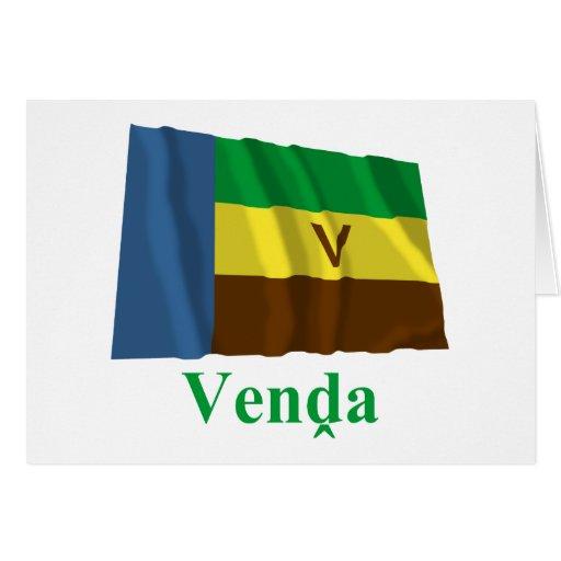 Bandeira de ondulação de Venda com nome em Venda Cartoes