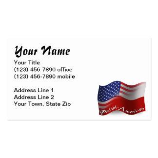 Bandeira de ondulação Polimento-Americana Cartão De Visita