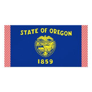 Bandeira de Oregon Cartoes Com Fotos Personalizados