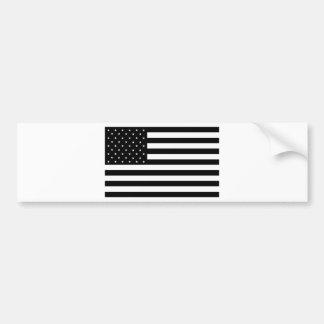 Bandeira de país preta dos Estados Unidos da Adesivo Para Carro