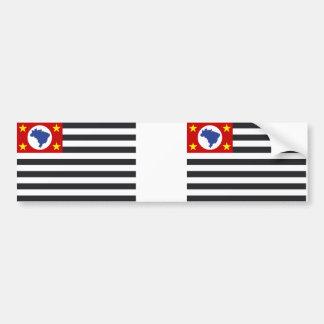 Bandeira de país Sao Paulo Adesivo