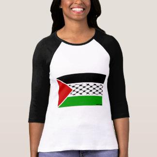 Bandeira de Palestina Keffiyeh Camiseta