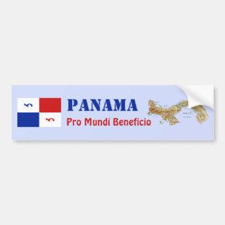 Bandeira de Panamá + Autocolante no vidro traseiro Adesivo Para Carro