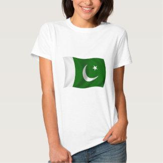 Bandeira de Paquistão Camisetas