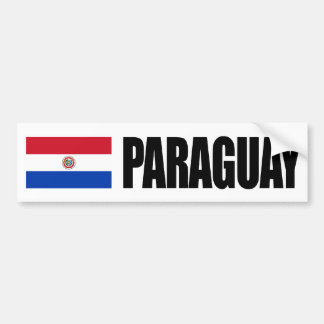Bandeira de Paraguai Adesivo Para Carro