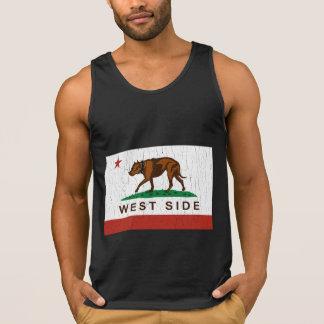 Bandeira de Pitbull do lado oeste de Califórnia