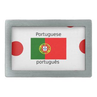 Bandeira de Portugal e design português da língua