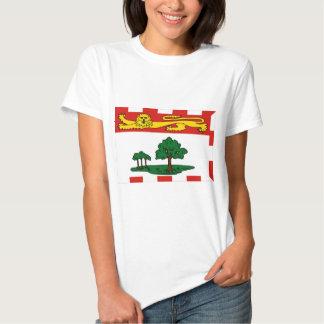 Bandeira de Prince Edward Island, Canadá Camiseta