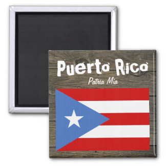 Bandeira de Puerto Rico Patria Mía Imã